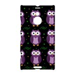 Halloween purple owls pattern Nokia Lumia 1520