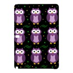 Halloween purple owls pattern Samsung Galaxy Tab Pro 10.1 Hardshell Case