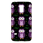 Halloween purple owls pattern Galaxy S5 Mini