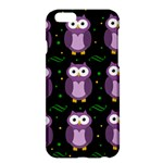 Halloween purple owls pattern Apple iPhone 6 Plus/6S Plus Hardshell Case