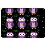 Halloween purple owls pattern iPad Air 2 Flip