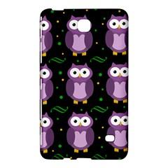 Halloween purple owls pattern Samsung Galaxy Tab 4 (8 ) Hardshell Case