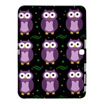 Halloween purple owls pattern Samsung Galaxy Tab 4 (10.1 ) Hardshell Case