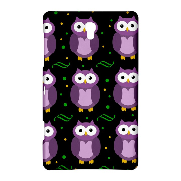 Halloween purple owls pattern Samsung Galaxy Tab S (8.4 ) Hardshell Case