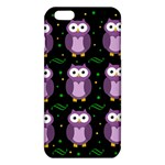 Halloween purple owls pattern iPhone 6 Plus/6S Plus TPU Case