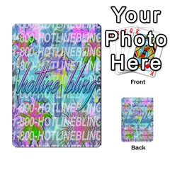 Drake 1 800 Hotline Bling Multi Purpose Cards (rectangle)  by Onesevenart