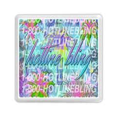 Drake 1 800 Hotline Bling Memory Card Reader (square)  by Onesevenart