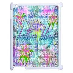 Drake 1 800 Hotline Bling Apple Ipad 2 Case (white) by Onesevenart