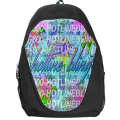 Drake 1 800 Hotline Bling Backpack Bag by Onesevenart