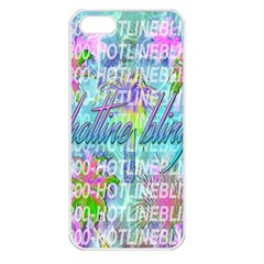 Drake 1 800 Hotline Bling Apple Iphone 5 Seamless Case (white) by Onesevenart