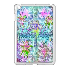 Drake 1 800 Hotline Bling Apple Ipad Mini Case (white) by Onesevenart