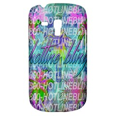 Drake 1 800 Hotline Bling Samsung Galaxy S3 Mini I8190 Hardshell Case by Onesevenart
