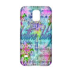 Drake 1 800 Hotline Bling Samsung Galaxy S5 Hardshell Case  by Onesevenart