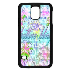 Drake 1 800 Hotline Bling Samsung Galaxy S5 Case (black) by Onesevenart