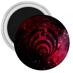 Bassnectar Galaxy Nebula 3  Magnets by Onesevenart