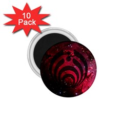 Bassnectar Galaxy Nebula 1 75  Magnets (10 Pack)  by Onesevenart