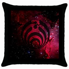 Bassnectar Galaxy Nebula Throw Pillow Case (black) by Onesevenart