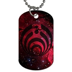 Bassnectar Galaxy Nebula Dog Tag (one Side) by Onesevenart