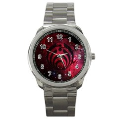 Bassnectar Galaxy Nebula Sport Metal Watch by Onesevenart