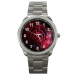 Bassnectar Galaxy Nebula Sport Metal Watch