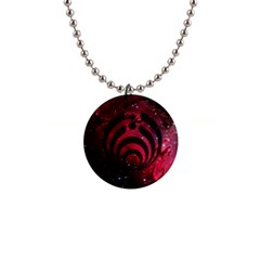Bassnectar Galaxy Nebula Button Necklaces by Onesevenart