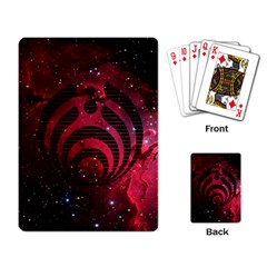 Bassnectar Galaxy Nebula Playing Card by Onesevenart
