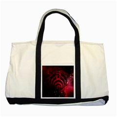 Bassnectar Galaxy Nebula Two Tone Tote Bag by Onesevenart