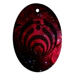 Bassnectar Galaxy Nebula Oval Ornament (Two Sides)