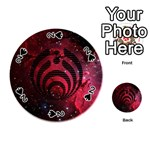 Bassnectar Galaxy Nebula Playing Cards 54 (Round)