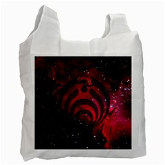 Bassnectar Galaxy Nebula Recycle Bag (one Side) by Onesevenart
