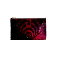 Bassnectar Galaxy Nebula Cosmetic Bag (small)  by Onesevenart
