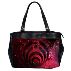 Bassnectar Galaxy Nebula Office Handbags (2 Sides)  by Onesevenart