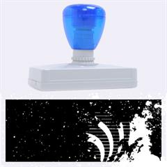 Bassnectar Galaxy Nebula Rubber Address Stamps (xl) by Onesevenart