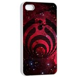 Bassnectar Galaxy Nebula Apple iPhone 4/4s Seamless Case (White)