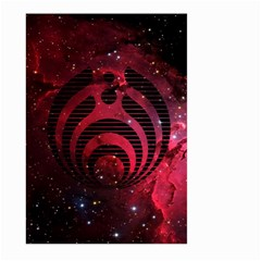 Bassnectar Galaxy Nebula Large Garden Flag (two Sides) by Onesevenart