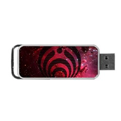 Bassnectar Galaxy Nebula Portable Usb Flash (two Sides) by Onesevenart