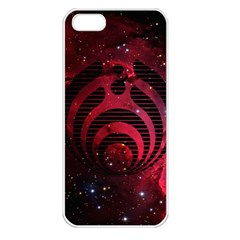 Bassnectar Galaxy Nebula Apple Iphone 5 Seamless Case (white) by Onesevenart