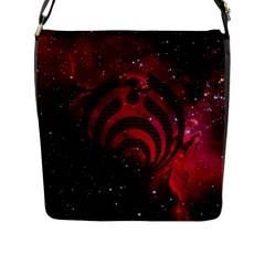 Bassnectar Galaxy Nebula Flap Messenger Bag (l)  by Onesevenart
