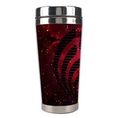 Bassnectar Galaxy Nebula Stainless Steel Travel Tumblers by Onesevenart