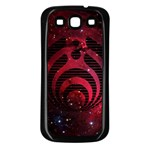 Bassnectar Galaxy Nebula Samsung Galaxy S3 Back Case (Black)