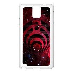 Bassnectar Galaxy Nebula Samsung Galaxy Note 3 N9005 Case (white) by Onesevenart