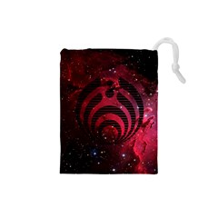 Bassnectar Galaxy Nebula Drawstring Pouches (small)  by Onesevenart