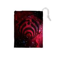 Bassnectar Galaxy Nebula Drawstring Pouches (medium)  by Onesevenart