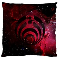 Bassnectar Galaxy Nebula Standard Flano Cushion Case (one Side) by Onesevenart