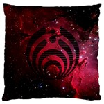 Bassnectar Galaxy Nebula Standard Flano Cushion Case (Two Sides)