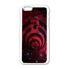Bassnectar Galaxy Nebula Apple Iphone 6/6s White Enamel Case by Onesevenart