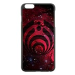 Bassnectar Galaxy Nebula Apple iPhone 6 Plus/6S Plus Black Enamel Case