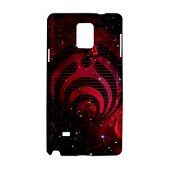 Bassnectar Galaxy Nebula Samsung Galaxy Note 4 Hardshell Case by Onesevenart