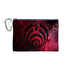 Bassnectar Galaxy Nebula Canvas Cosmetic Bag (m) by Onesevenart