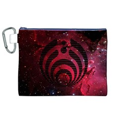 Bassnectar Galaxy Nebula Canvas Cosmetic Bag (xl) by Onesevenart